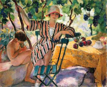 Garden in Summer   Henri Lebasque   oil painting