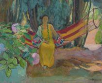 Hammock | Henri Lebasque | oil painting