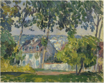 House in the Trees   Henri Lebasque   oil painting