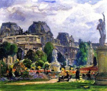 Jardin du Carrousel Paris | Joseph Kleitsch | oil painting