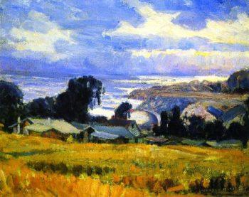 Evening | Joseph Kleitsch | oil painting