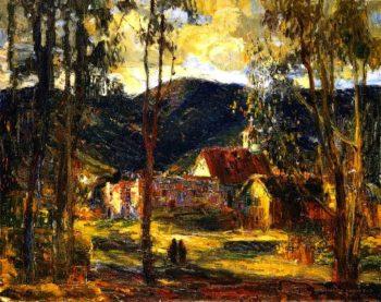 Evening LIght Laguna | Joseph Kleitsch | oil painting