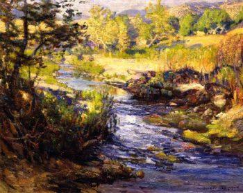 Creek Laguna Canyon | Joseph Kleitsch | oil painting