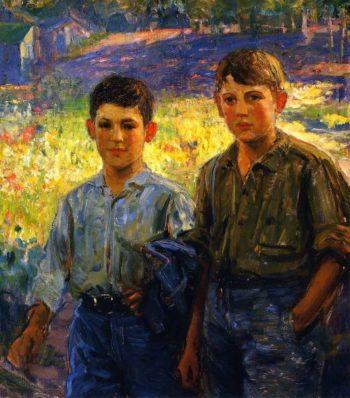 Comrades | Joseph Kleitsch | oil painting