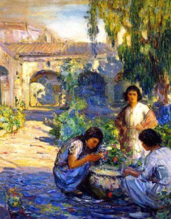 Children of Capistrano | Joseph Kleitsch | oil painting