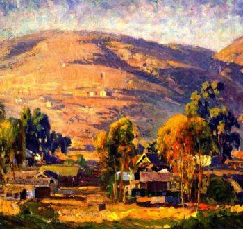 Carmel Cypress | Joseph Kleitsch | oil painting
