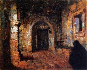 Capistrano Mission | Joseph Kleitsch | oil painting