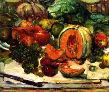 Cantaloupe | Joseph Kleitsch | oil painting