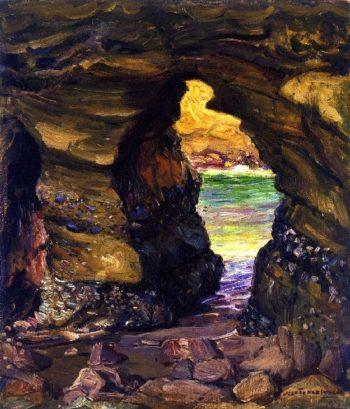 Arch Beach | Joseph Kleitsch | oil painting