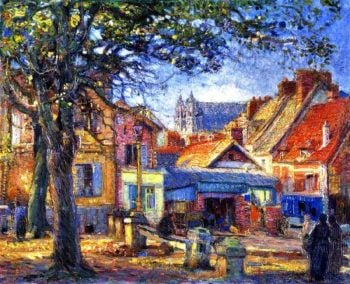 Ancient and Modern Normandie Vernon France | Joseph Kleitsch | oil painting