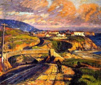 Aliso Laguna Overpass | Joseph Kleitsch | oil painting
