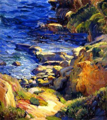 A Favorite Spot | Joseph Kleitsch | oil painting