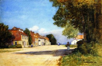 Winchelsea | Edward Arthur Walton | oil painting