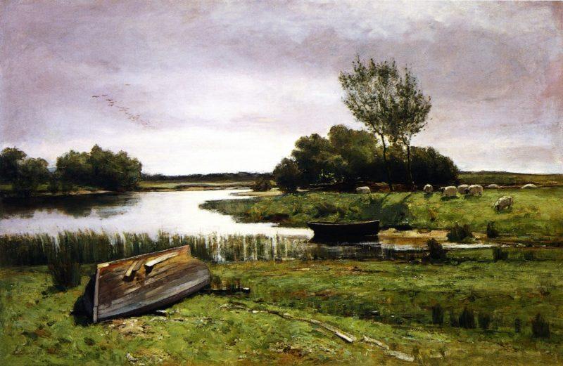 A Summer Morning | Edward Arthur Walton | oil painting