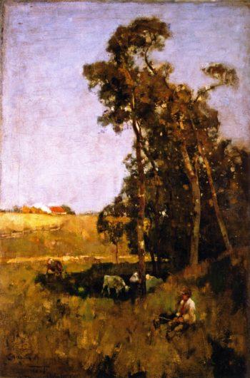 Noon day | Edward Arthur Walton | oil painting
