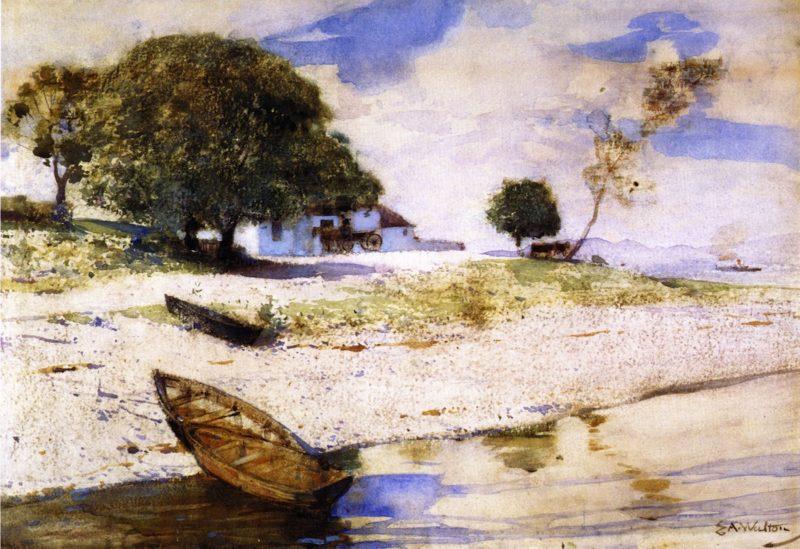 At Rosneath | Edward Arthur Walton | oil painting