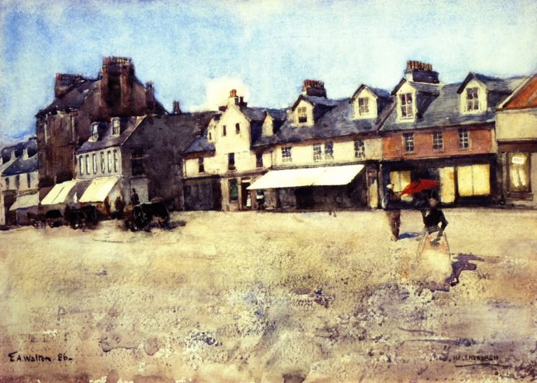At Helensburgh | Edward Arthur Walton | oil painting