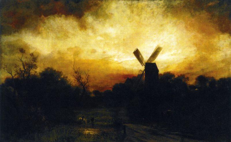 Sunset at East Hampton | Charles Henry Miller | oil painting
