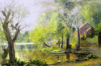 Alley Pond Bayside | Charles Henry Miller | oil painting