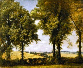 A Bavarian Landscape   Charles Henry Miller   oil painting