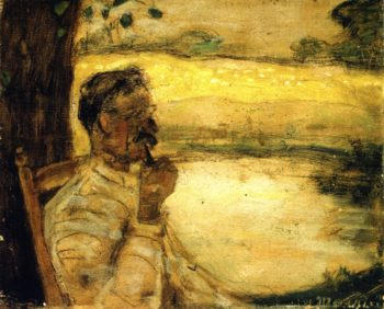 One Day at St Eustache | James Wilson Morrice | oil painting