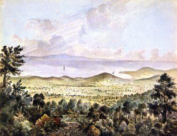 Valley of Montecito near Sta Barbara California | James Madison Alden | oil painting
