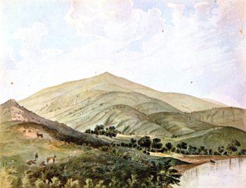 Shanghai Rancho near Saucelito Cala San Francisco Bay | James Madison Alden | oil painting