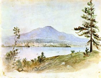 Nanaimo from Douglas Island Gallows Point | James Madison Alden | oil painting