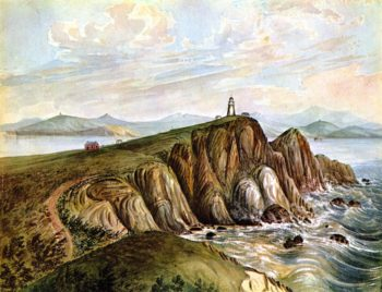 From Point Beoneta Entrance San Francisco Bay | James Madison Alden | oil painting