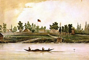 Fort Victoria | James Madison Alden | oil painting