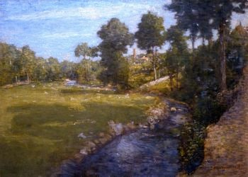 Landscape | Julian Alden Weir | oil painting