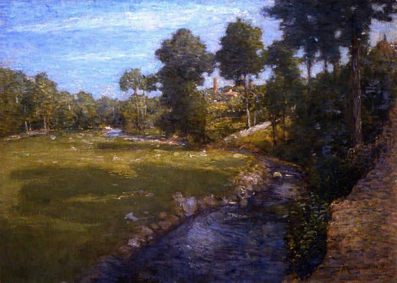 Landscape | Julian Alden Weir | oil painting