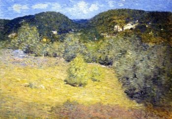 Danbury Hills | Julian Alden Weir | oil painting