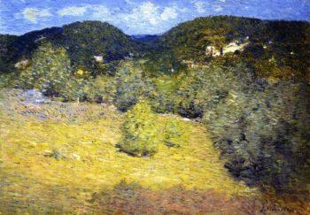 Danbury Hills | Julian Alden Weir | oil painting