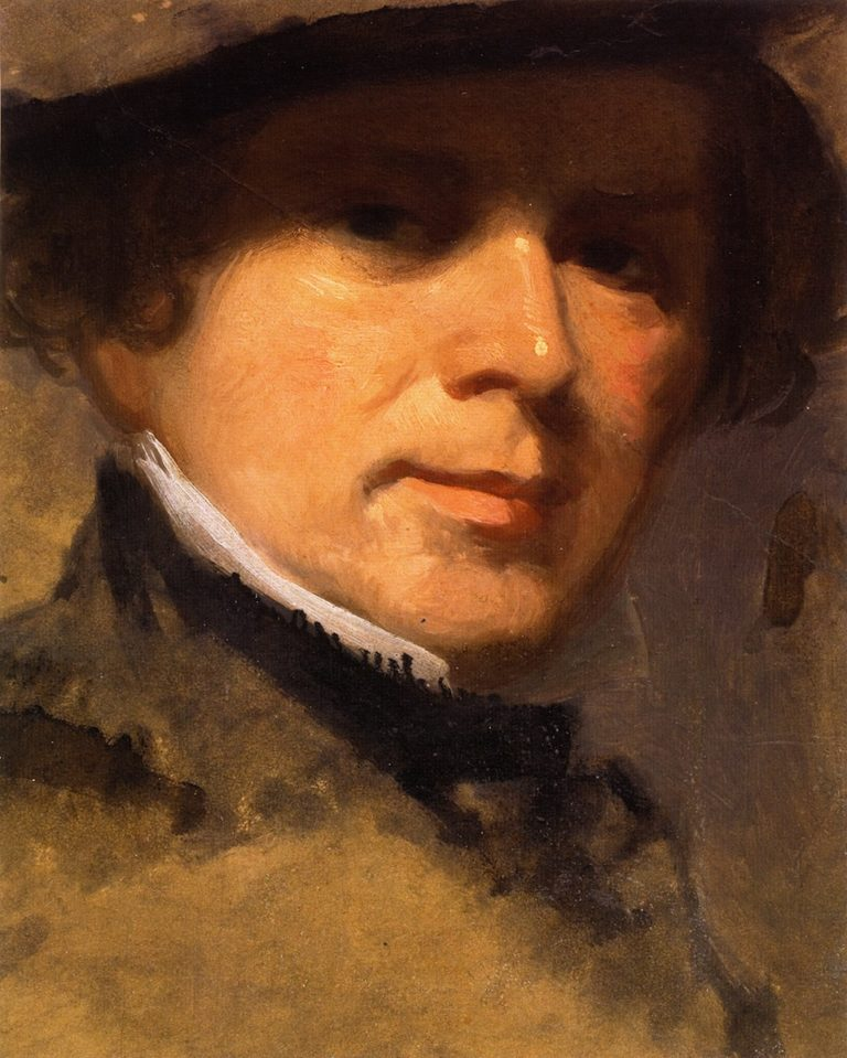 Self Portrait | Robert Walter Weir | oil painting