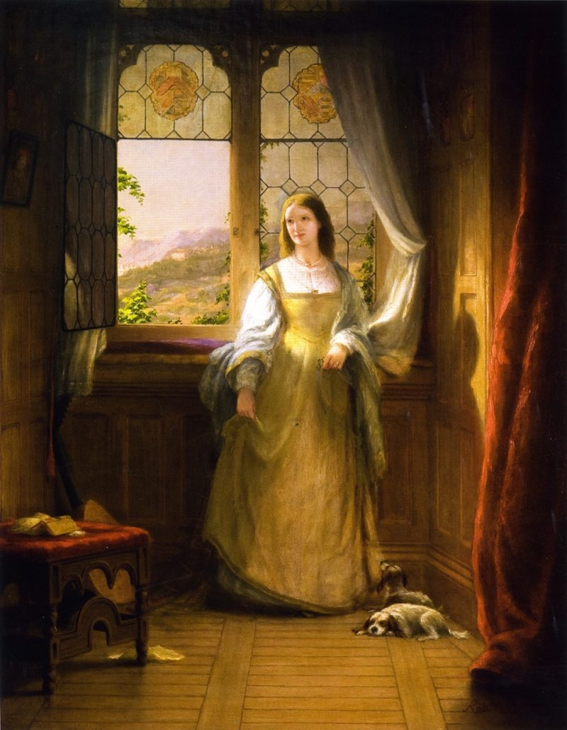 Bianca | Robert Walter Weir | oil painting