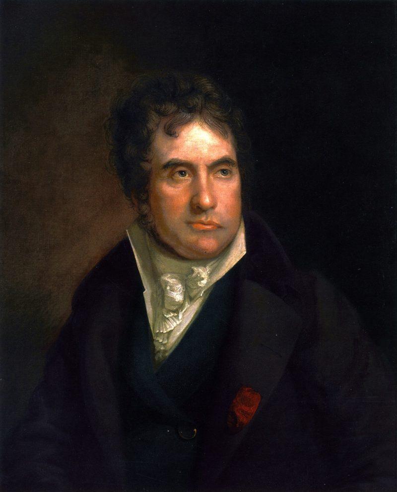 Jacques Louis David   Rembrandt Peale   oil painting
