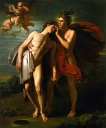 The Death of Hyacinth | Benjamin West | oil painting
