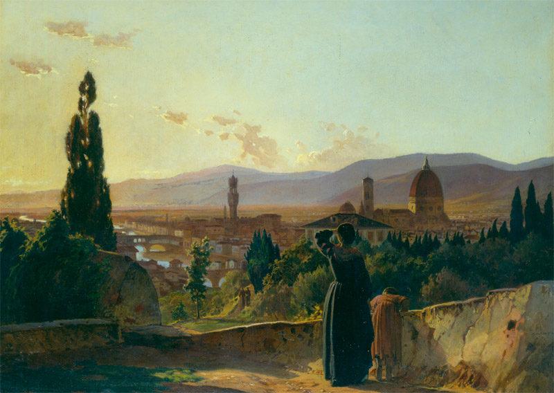 florence 1864 | Nikolay Gay | oil painting