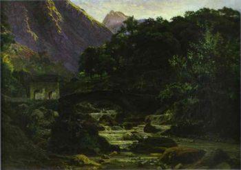 marble quarry at carrara 1868 | Nikolay Gay | oil painting