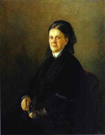 portrait of anna olsufyeva 1881 | Nikolay Gay | oil painting