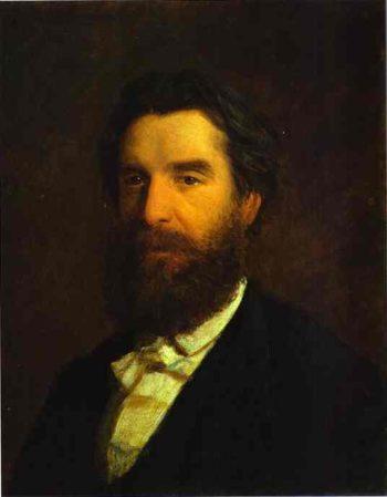 portrait of ivan zabela 1871 | Nikolay Gay | oil painting