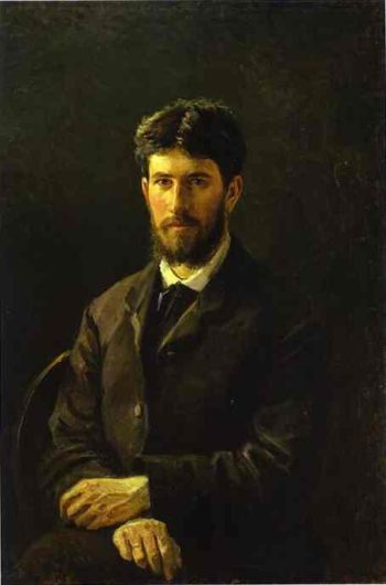portrait of piotr gay the artists son 1884 | Nikolay Gay | oil painting
