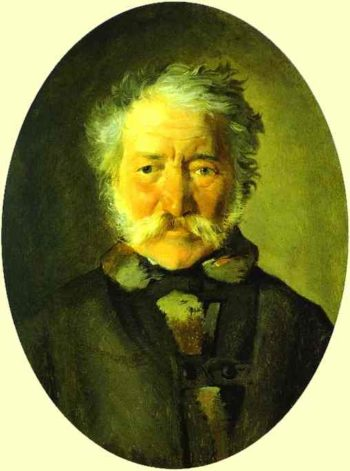 portrait of piotr zabela 1856 | Nikolay Gay | oil painting
