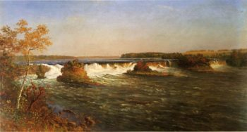 Falls of St Anthony | Albert Bierstadt | oil painting