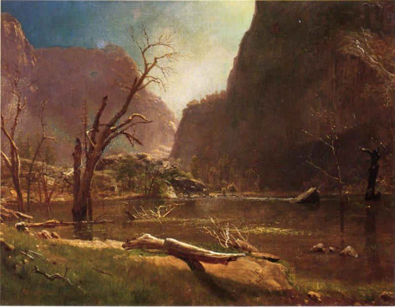 Hatch Hatchy Valley California | Albert Bierstadt | oil painting