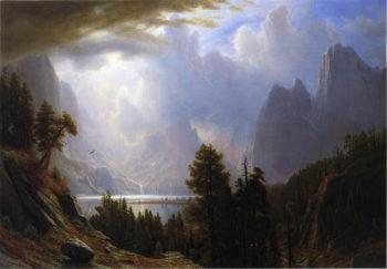 Landscape | Albert Bierstadt | oil painting