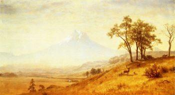 Mount Hood | Albert Bierstadt | oil painting