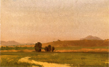 Nebraska On the Plains   Albert Bierstadt   oil painting