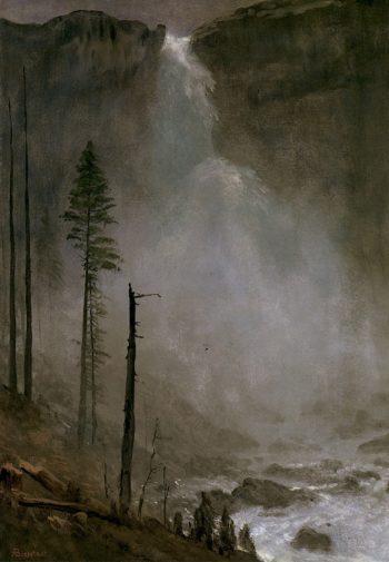 Nevada Falls   Albert Bierstadt   oil painting